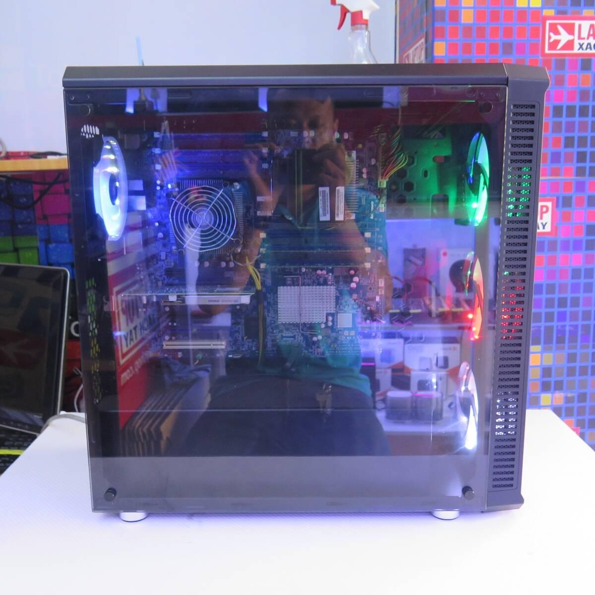 Bộ CPU Thiết kế Xeon X5650 RAM 16GB SSD 240GB HDD 500GB NIVIDIA