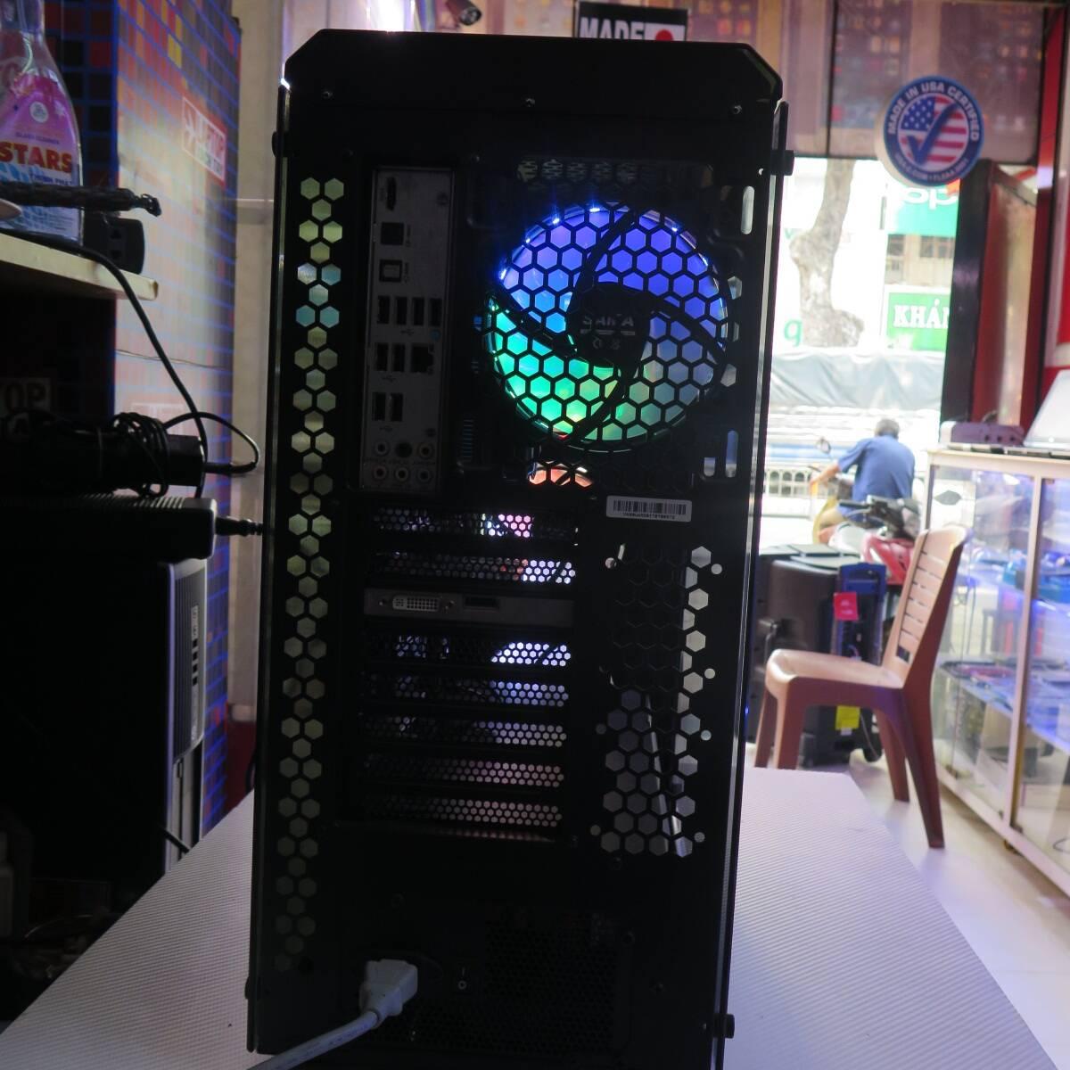 Bộ CPU Thiết kế Xeon X5650 RAM 16GB SSD 240GB HDD 500GB