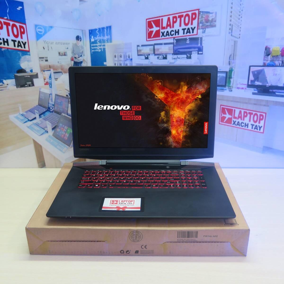 Lenovo IDeapad Y700 17ISK I7 6700HQ RAM 8GB M2 SATA 256GB HDD 1TB